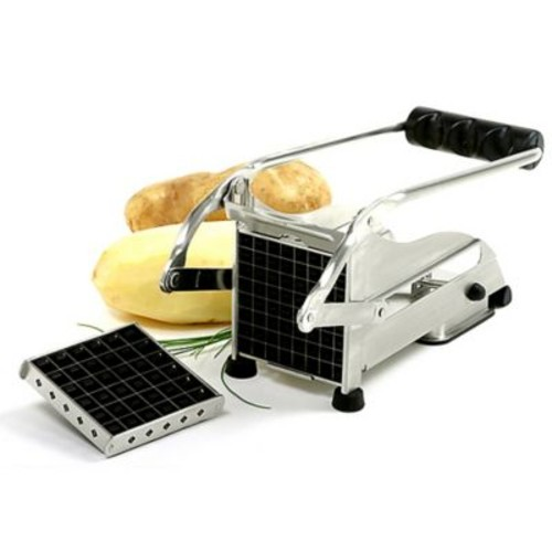 Norpro Commercial French Fry Cutter in Black/Silver