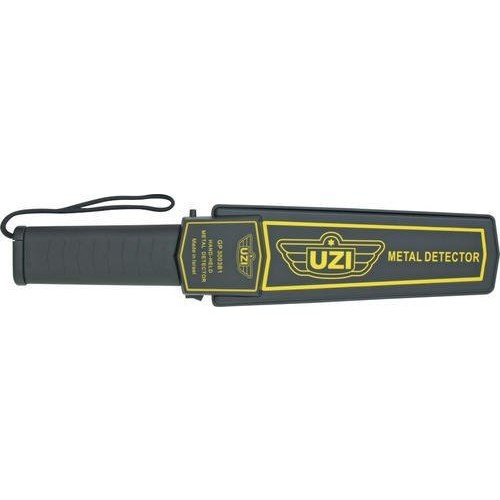 UZI UZI-HHSC-1 Handheld Metal Detector with Adjustable Sensitivity, Black