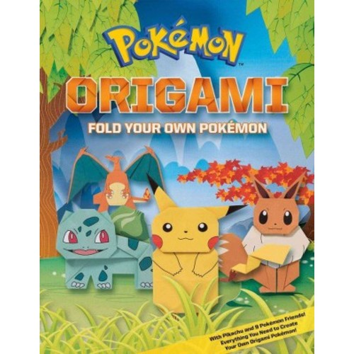 Pokemon Origami: Fold Your Own Pokemon! (Paperback)