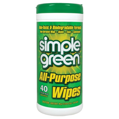 Simple Green All-Purpose Wipes (40-Count) (Case of 12)