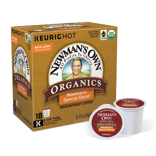 Keurig K-Cup Pod Newman's Own Special Decaf Coffee - 18-pk.