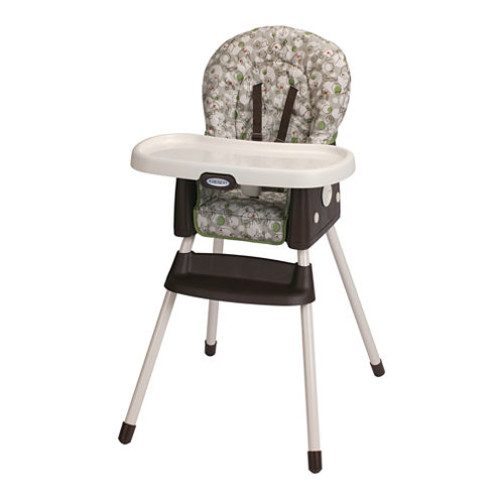 Graco SimpleSwitch 2 in 1 Portable High Chair & Booster - Zuba