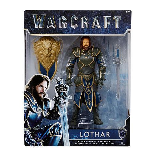 Warcraft 6 Inch Action Figure - Lothar