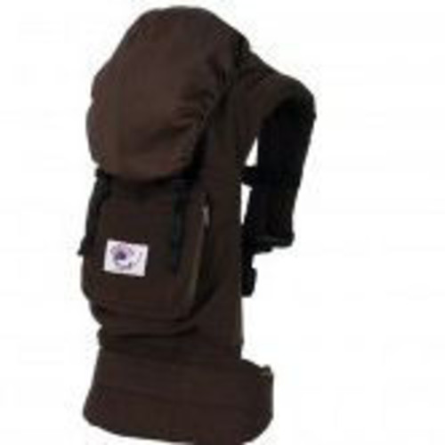 ERGO Baby Baby Carrier - Dark Chocolate/Kona Coffee Twill