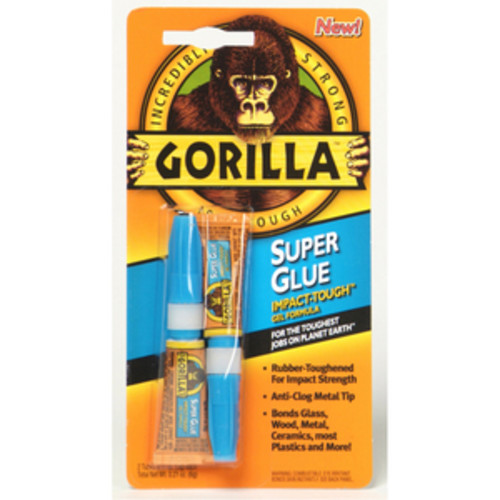 Gorilla Glue 2 3gm Tubes Super Glue