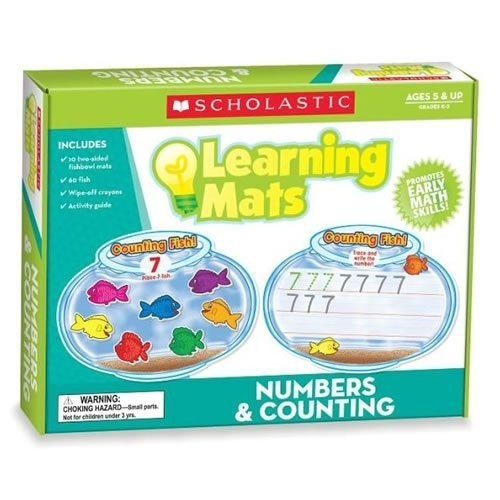 Counting Mats (Scholastic Hands-On Learning)