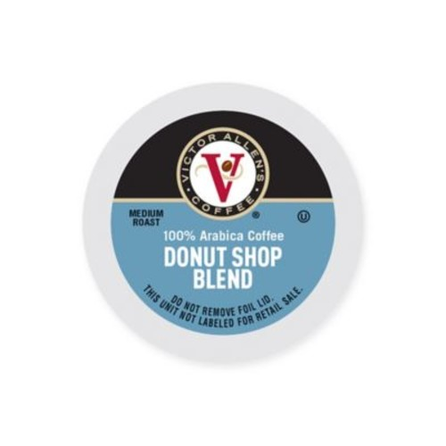 60-Count Victor Allen Donut Shop Blend Coffee Pods for Single Serve Coffee Makers