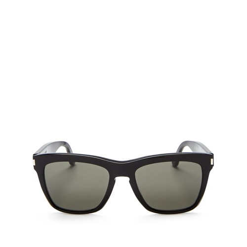 SAINT LAURENT Devon Oversized Square Sunglasses, 55Mm
