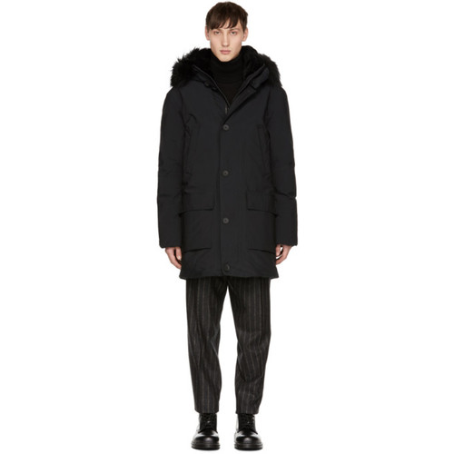 MACKAGE Black Down Vaughn Coat