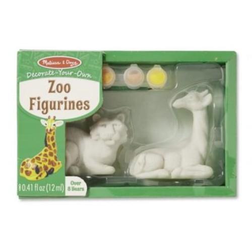 Melissa And Doug Zoo Figurines (MLSSAND1743)