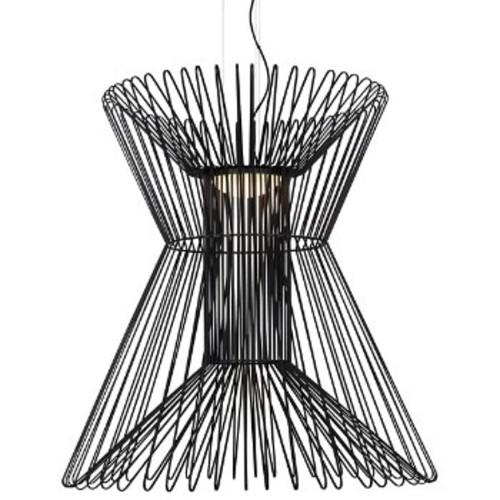 Syrma LED Grande Pendant [Finish : Matte Black]