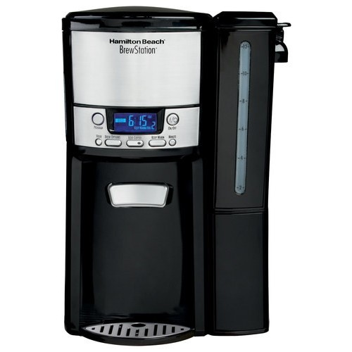 Hamilton Beach - BrewStation 12-Cup Coffeemaker - Black