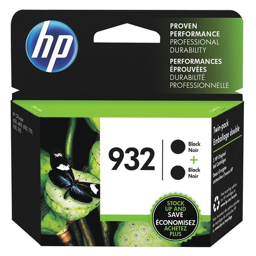 HP Ink Cartridge, No. 932, Black