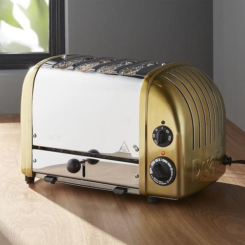 Dualit  NewGen 4-Slice Brass Toaster