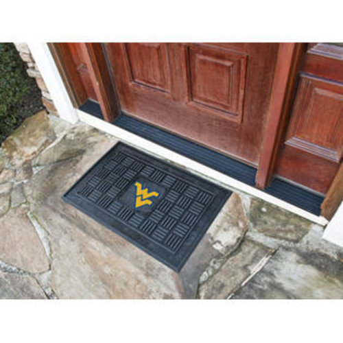 FANMATS 11390 West Virginia Heavy Duty Front Outdoor Mat