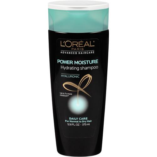 L'Oreal Advanced Haircare Power Moisture Hydrating Shampoo, 12.6 fl oz