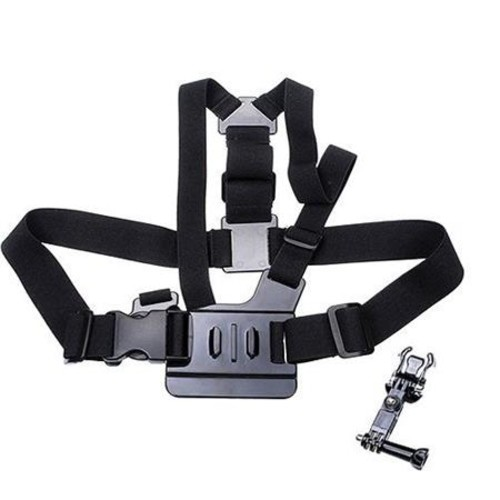 Polaroid Chest Harness Mount with 3-Way Pivot Arm for GoPro HERO4, 3+&3 Cameras PLGPCM