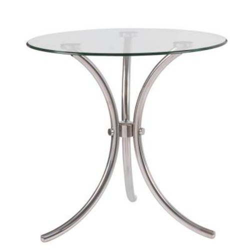 Kenroy Home Trio Stainless Steel End Table