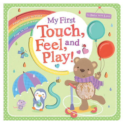 My First Touch Feel And Play Book