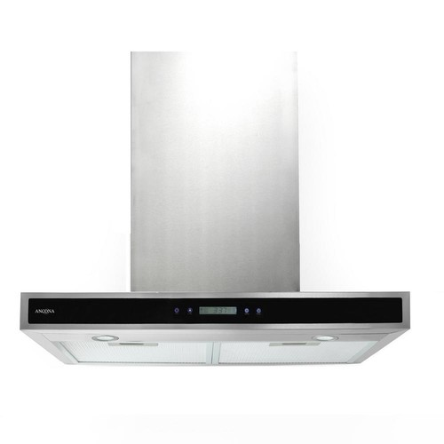 Ancona 30 in. 400 CFM Convertible Wall-Mounted Range Hood with LED Lights in Stainless Steel