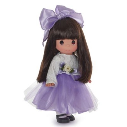 Precious Moments Lovely in Lace Brunette Doll