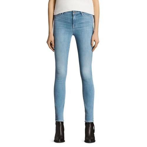 ALLSAINTS Grace Jeans In Light Indigo