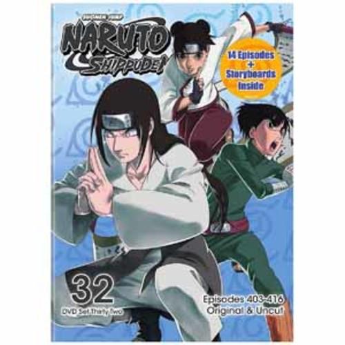 Naruto Shippuden Uncut Set 32 [DVD]