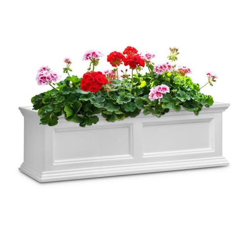 Mayne Fairfield 11 in. x 36 in. Plastic Window Box