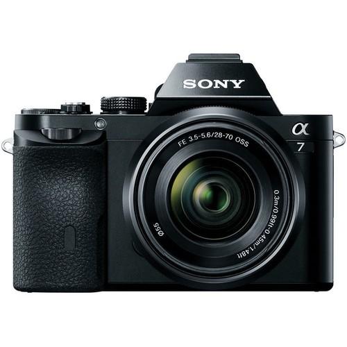 Sony Alpha a7 Mirrorless Digital Camera with FE 28-70mm OSS Lens