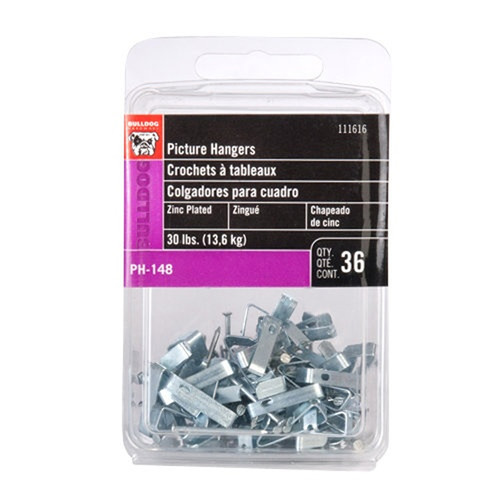 Bulldog Hardware Picture Hangers Value Pack