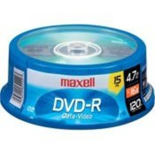 Maxell 638006 Dvd-R 4.7 Gb Spindle [1-Pack]