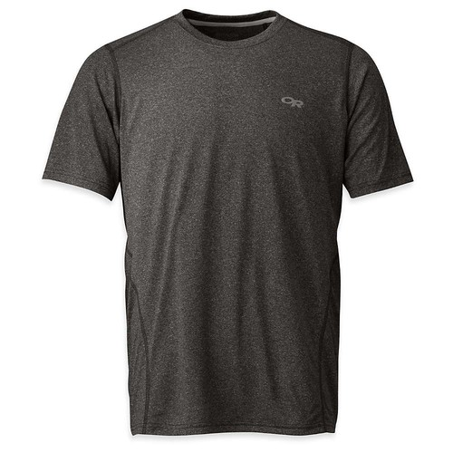 Outdoor Research Men's Ignitor Short Sleeve Tee [Charcoal, Small]