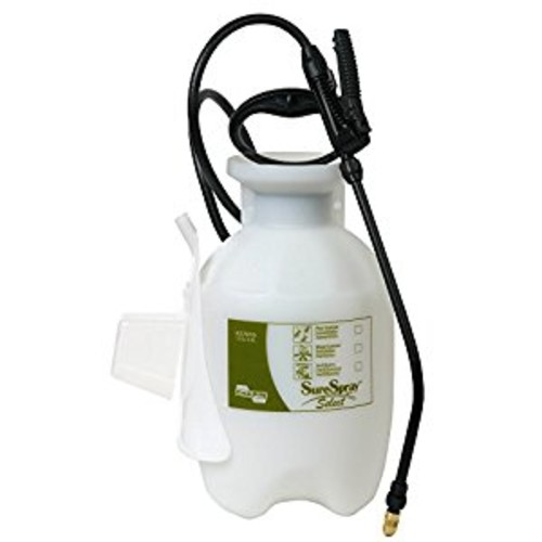Chapin 27010 1-Gallon SureSpray Select Sprayer For Fertilizer, Herbicides and Pesticides [1 Gallon]