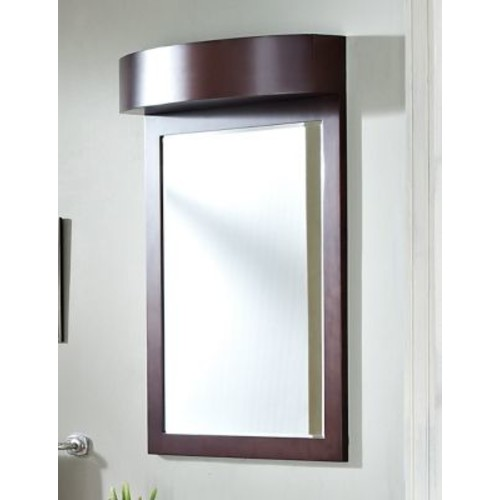 American Imaginations Transitional Wall Mirror; G