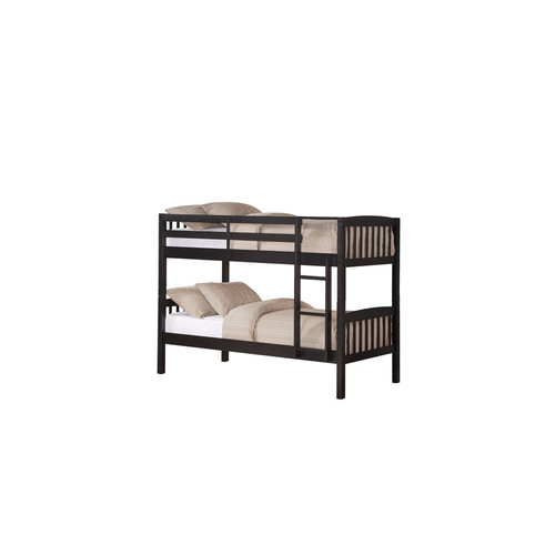 Dorel Belmont Twin Bunk Bed - Black