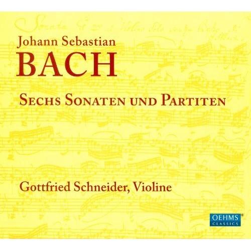 6 Sonatas & Partitas - CD