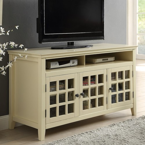 Linon Leslie Media Cabinet TV Stand