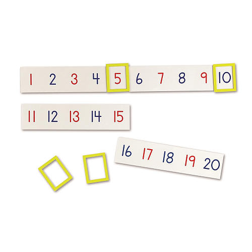 Learning Resources Magnetic Number Line, 1 - 100