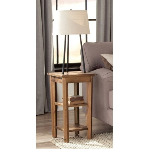 Alaterre Revive Reclaimed End Table - Natural