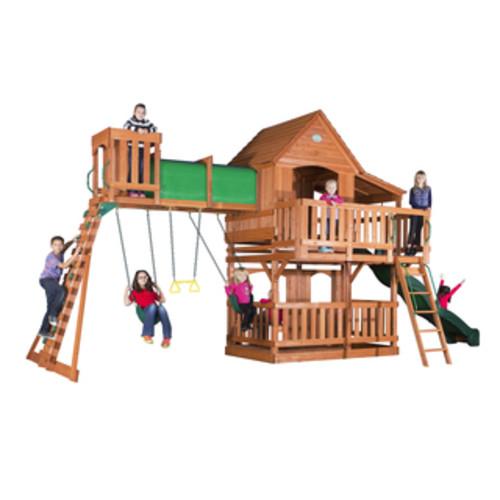 Backyard Discovery Shenandoah All Cedar Swingset