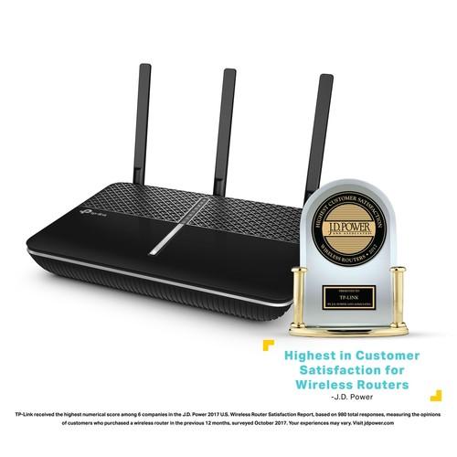 TP-Link Archer C2300 MU-MIMO Gigabit Wireless Wi-Fi Router