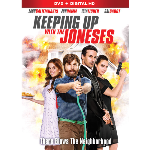 Keeping Up with the Joneses [DVD] [2016]