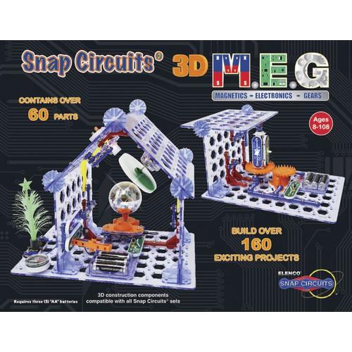 Snap Circuits 3-D M.E.G. (Magnetics, Electronics, Gears)