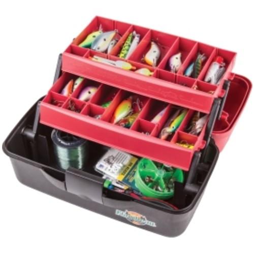 Flambeau 2-Tray Tackle Box with Zerust