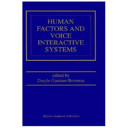 Human Factors and Voice Interactive Systems (Hardcover)