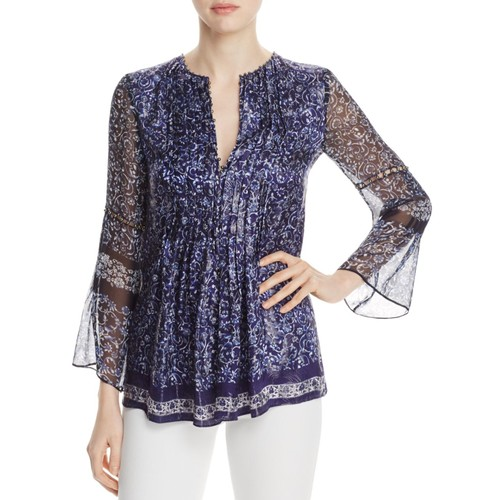 Orion Embellished Peasant Blouse