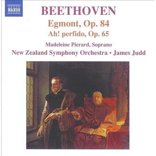 Beethoven: Egmont, Op. 84; Ah! Perfido, Op. 65 [CD]