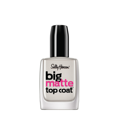 Sally Hansen Big Matte Top Coat, 0.4 fl Oz