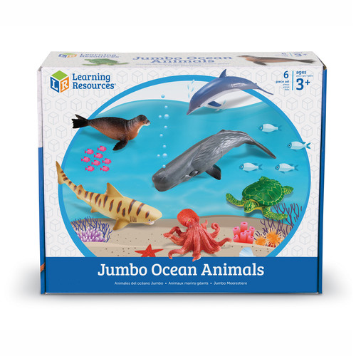 Learning Resources Jumbo Ocean Animals
