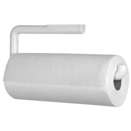 InterDesign Wallmount Paper Towel Holder, White